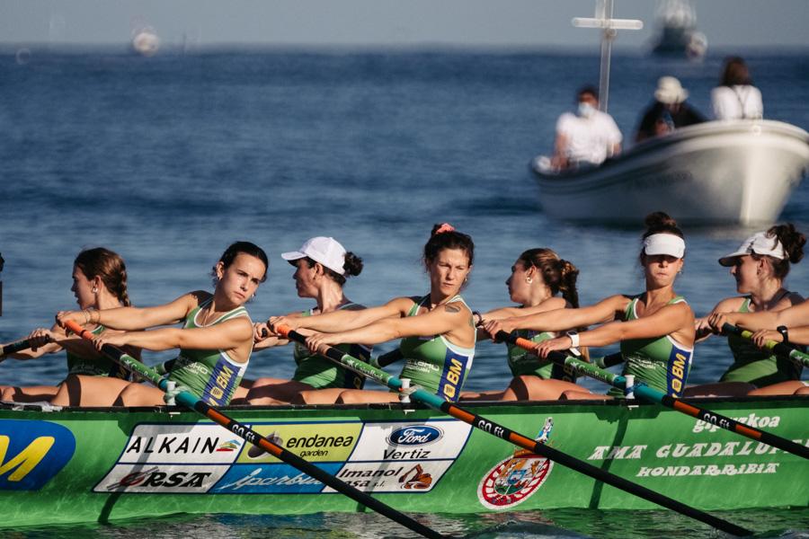DSCF0941 - Bandera de la Concha: Triunfo de la tripulación masculina de Hondarribia y la femenina de Orio