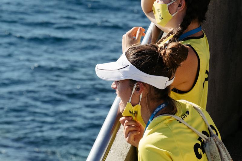 DSCF5643 - Bandera de la Concha: Orio gana la clasificatoria femenina seguida de Tolosaldea
