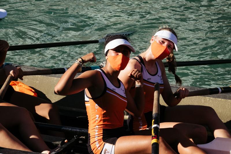 DSCF5865 - Bandera de la Concha: Orio gana la clasificatoria femenina seguida de Tolosaldea