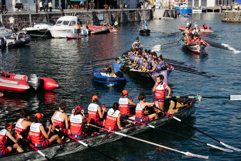 DSCF5986 - Bandera de la Concha: Orio gana la clasificatoria femenina seguida de Tolosaldea