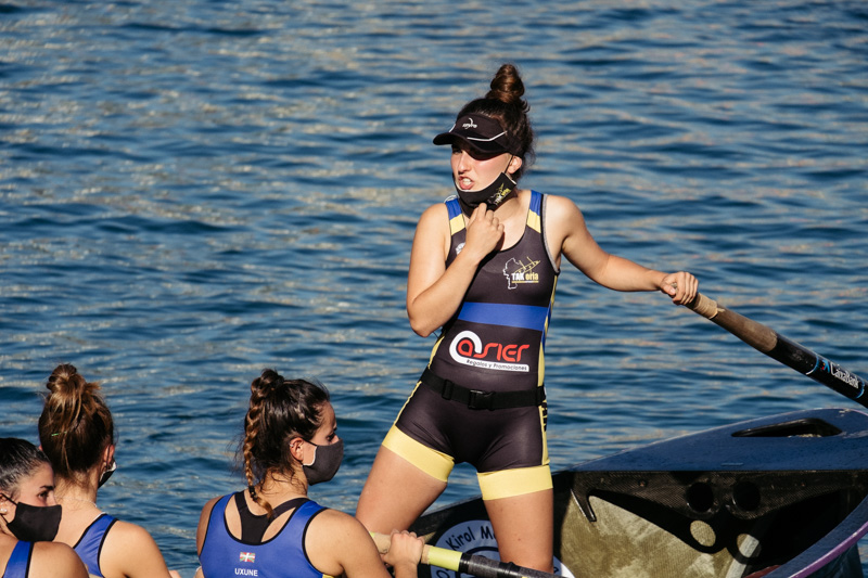 DSCF6017 - Bandera de la Concha: Orio gana la clasificatoria femenina seguida de Tolosaldea