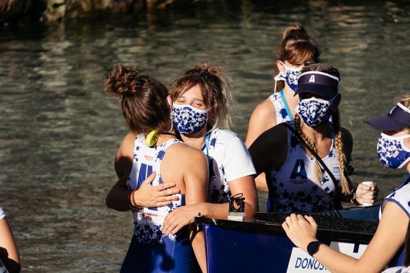 DSCF6251 - Bandera de la Concha: Orio gana la clasificatoria femenina seguida de Tolosaldea