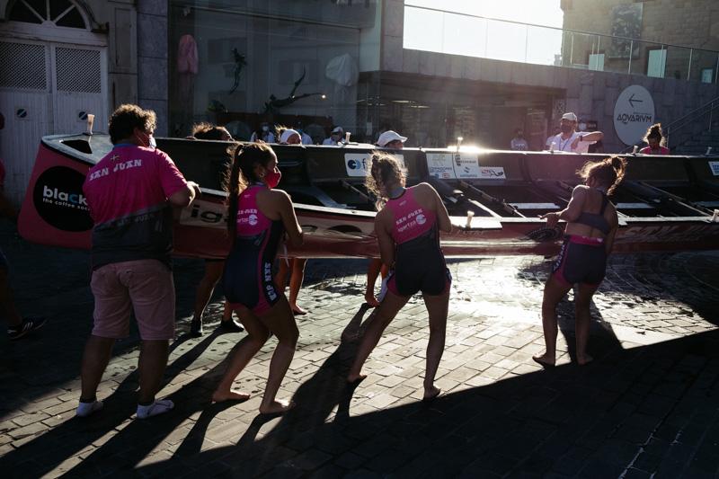 DSCF6441 - Bandera de la Concha: Orio gana la clasificatoria femenina seguida de Tolosaldea