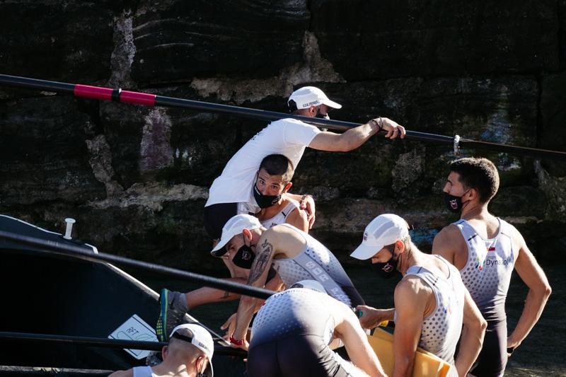 DSCF7196 - Bandera de la Concha: Zierbena hace el mejor tiempo en la clasificatoria masculina