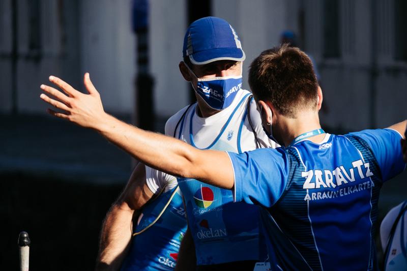 DSCF7259 - Bandera de la Concha: Zierbena hace el mejor tiempo en la clasificatoria masculina