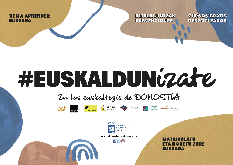 Abierta La Inscripcion En Los Euskaltegis De Donostia