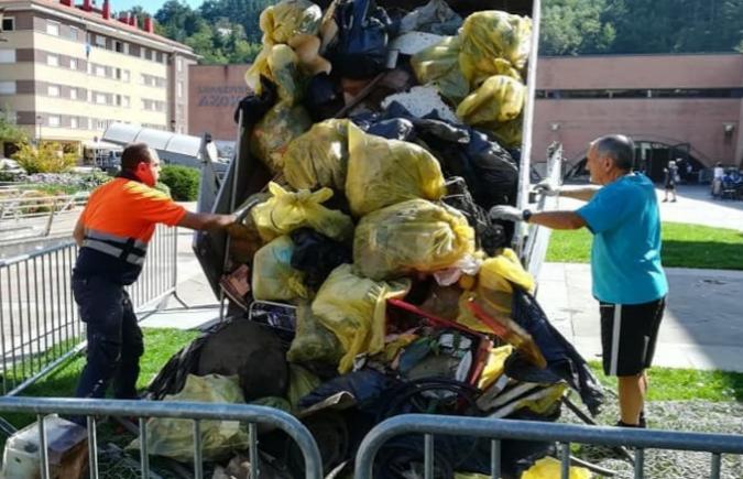 Legazpi basuras