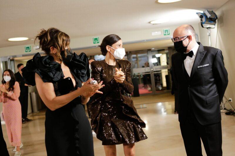 Elena Anaya, Gina Gershon y José Luis Rebordinos