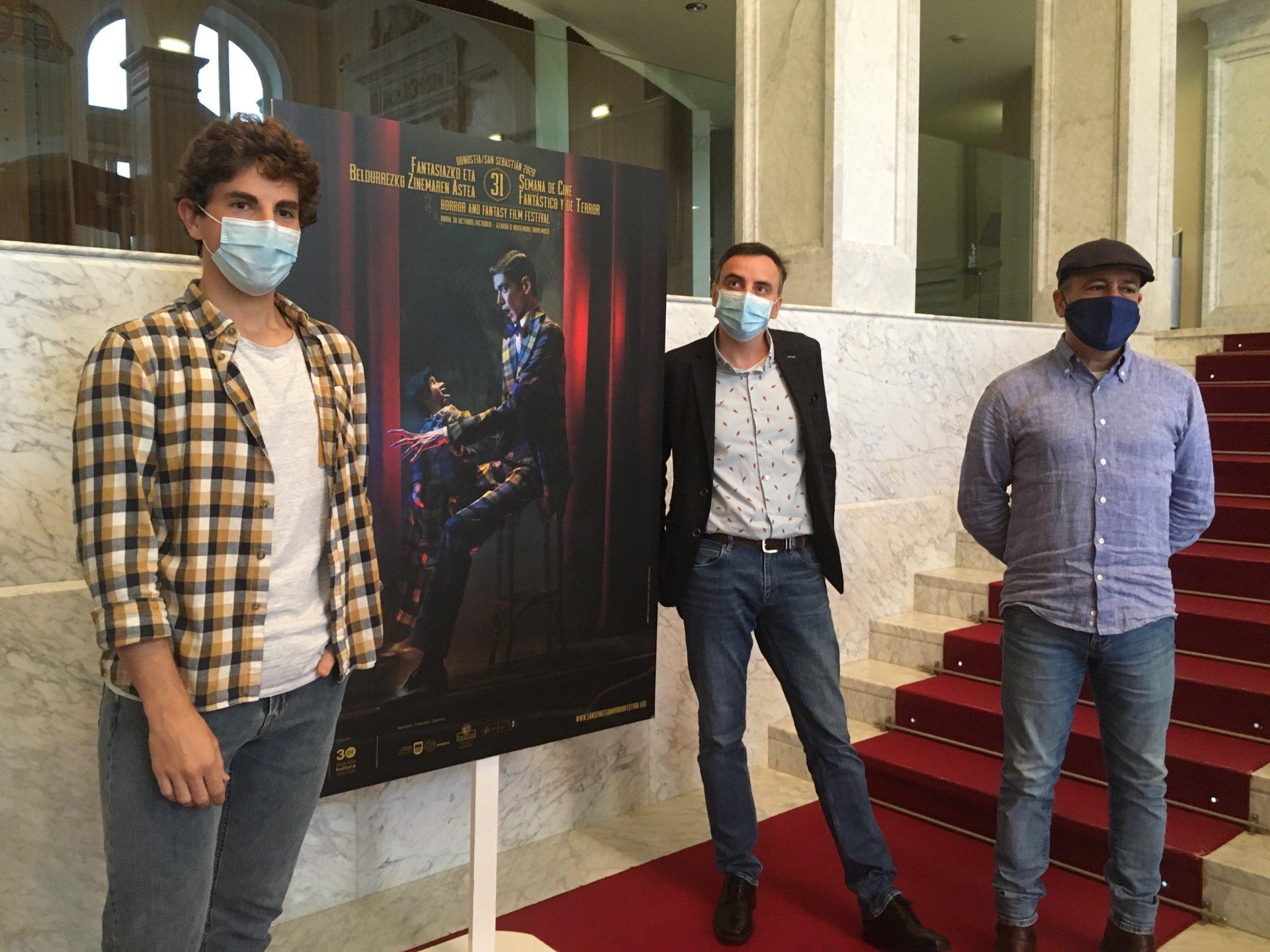 Presentación de la Semana de Cine Fantástico y de Terror. Foto: Donostia Kultura