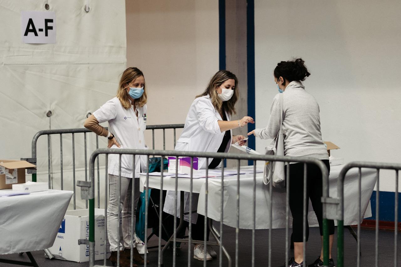 PCRs en Hernani. Imagen de archivo. Foto: Santiago Farizano