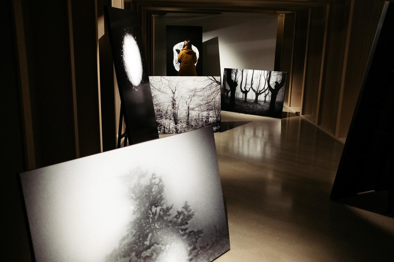 'Galerna' de Jon Cazenave en Artegunea. Foto: Santiago Farizano