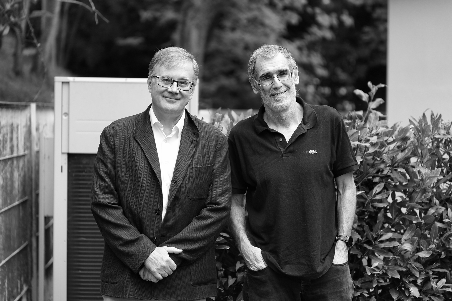 Fernando Cossío y Juanjo Gómez Cárdenas. Foto: Ángel Fernández