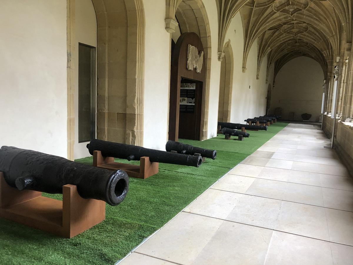 Los cañones. Foto: San Telmo Museoa