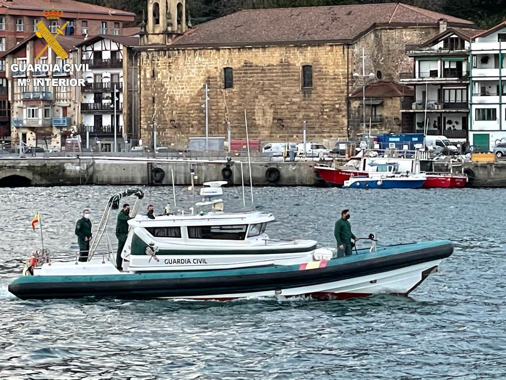 Embarcación Guardia Civil