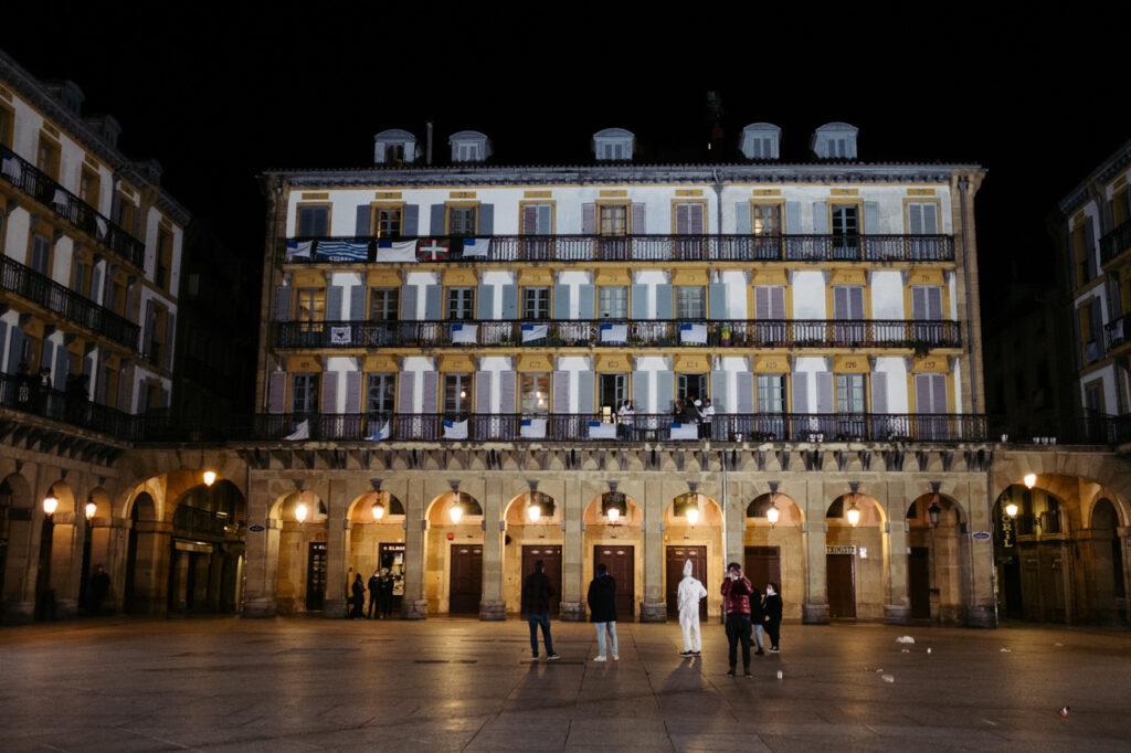 DSCF0970 1024x682 - Se acalla la fiesta en San Sebastián a falta de redobles