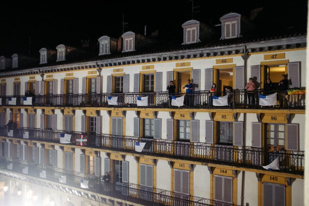DSCF1102 1024x682 - Se acalla la fiesta en San Sebastián a falta de redobles