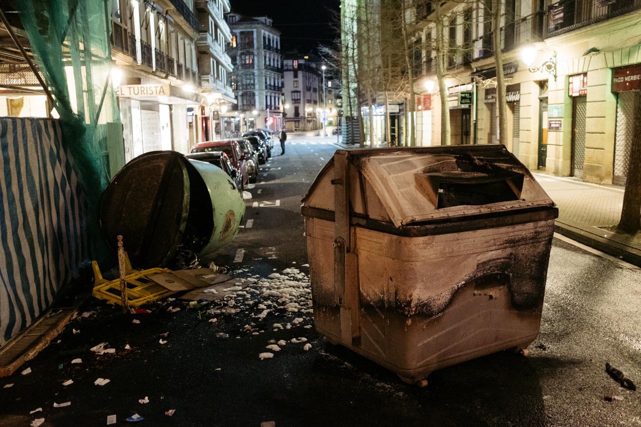 DSCF1141 - Altercados en la Parte Vieja para cerrar un atípico Día de San Sebastián