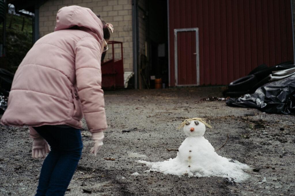 DSCF7516 1024x682 - Persistirán en Gipuzkoa las nevadas en cotas bajas varios días