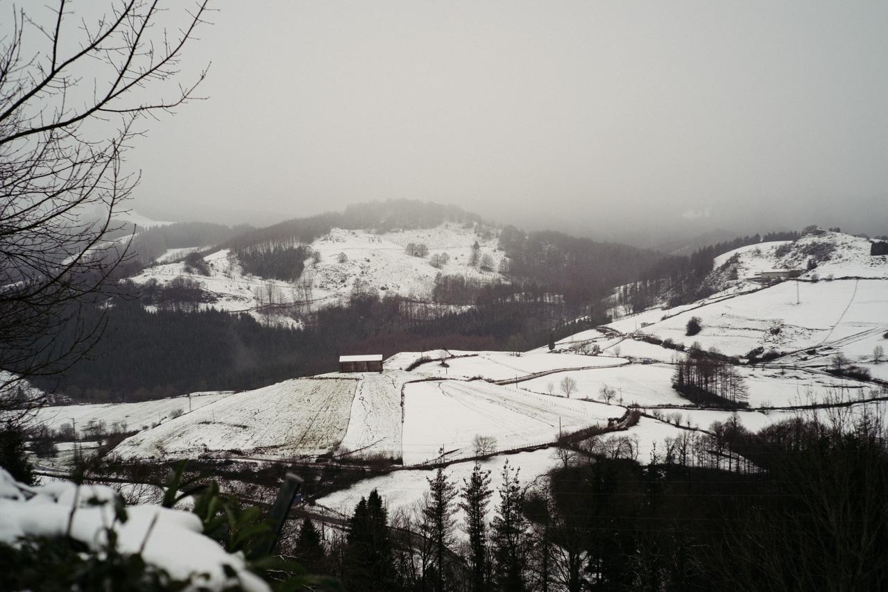 Imagen del 3 de enero en Gipuzkoa. Foto: Santiago Farizano
