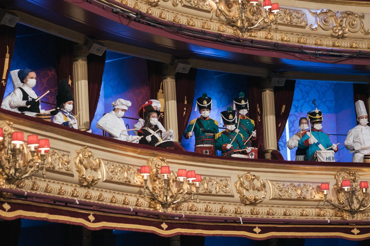 Grabación en el Teatro Victoria Eugenia. Foto: Santiago Farizano