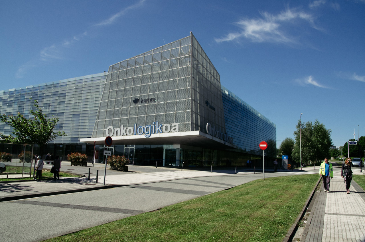 Edificio del Oncológico. Foto: Santiago Farizano