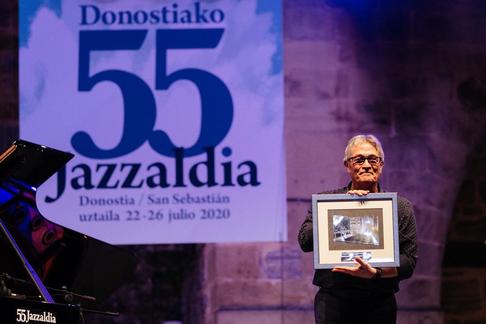 Jazzaldia Chano Dominguez - Donostia Kultura capeó el 2020 con el abrazo del público y prepara dFERIA