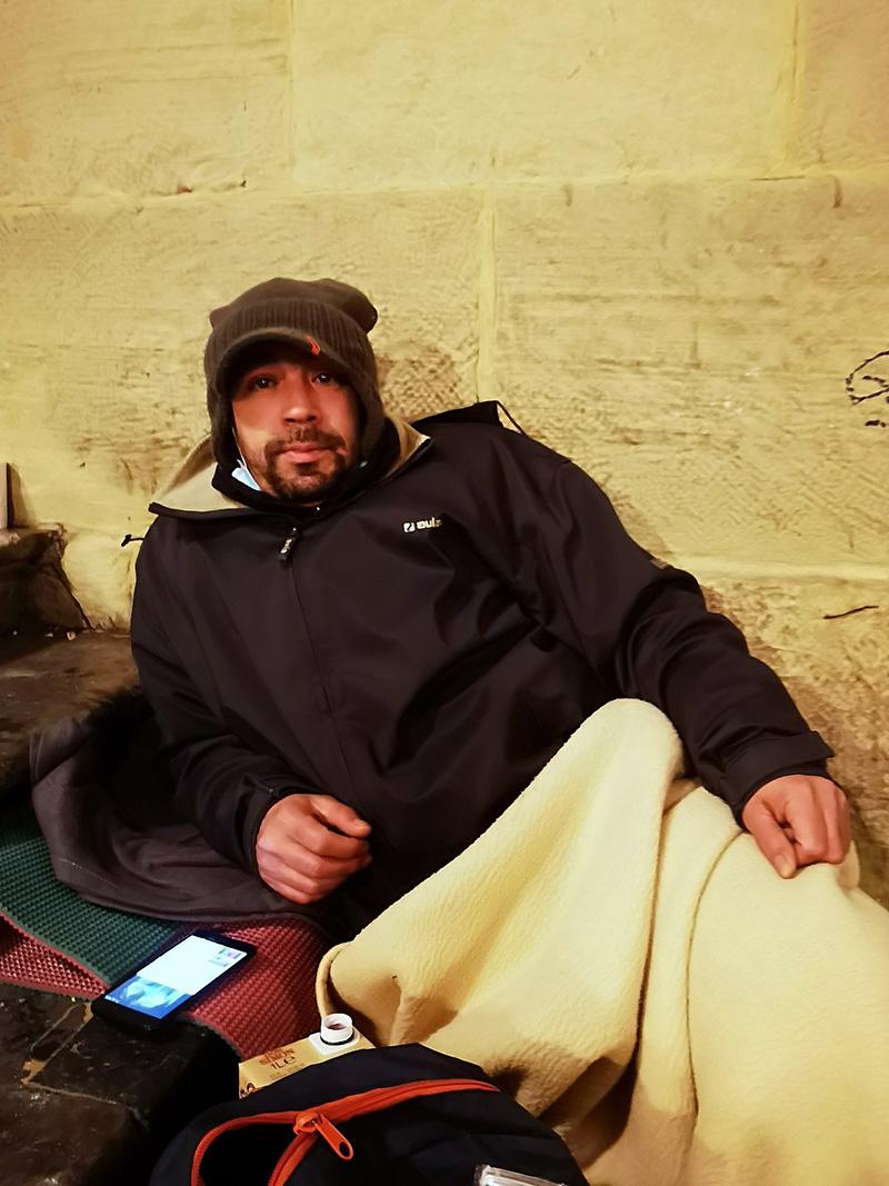 Mohammed - La 'cara b' de la plaza de la Constitución de Donostia