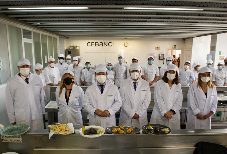 Presentación del programa Gastronomía Solidaria. Foto: Gobierno vasco