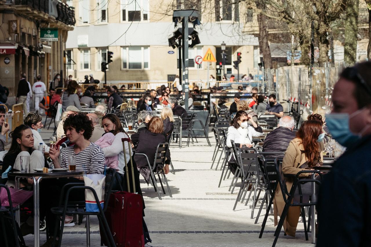 Plaza Easo. Fotos: Santiago Farizano