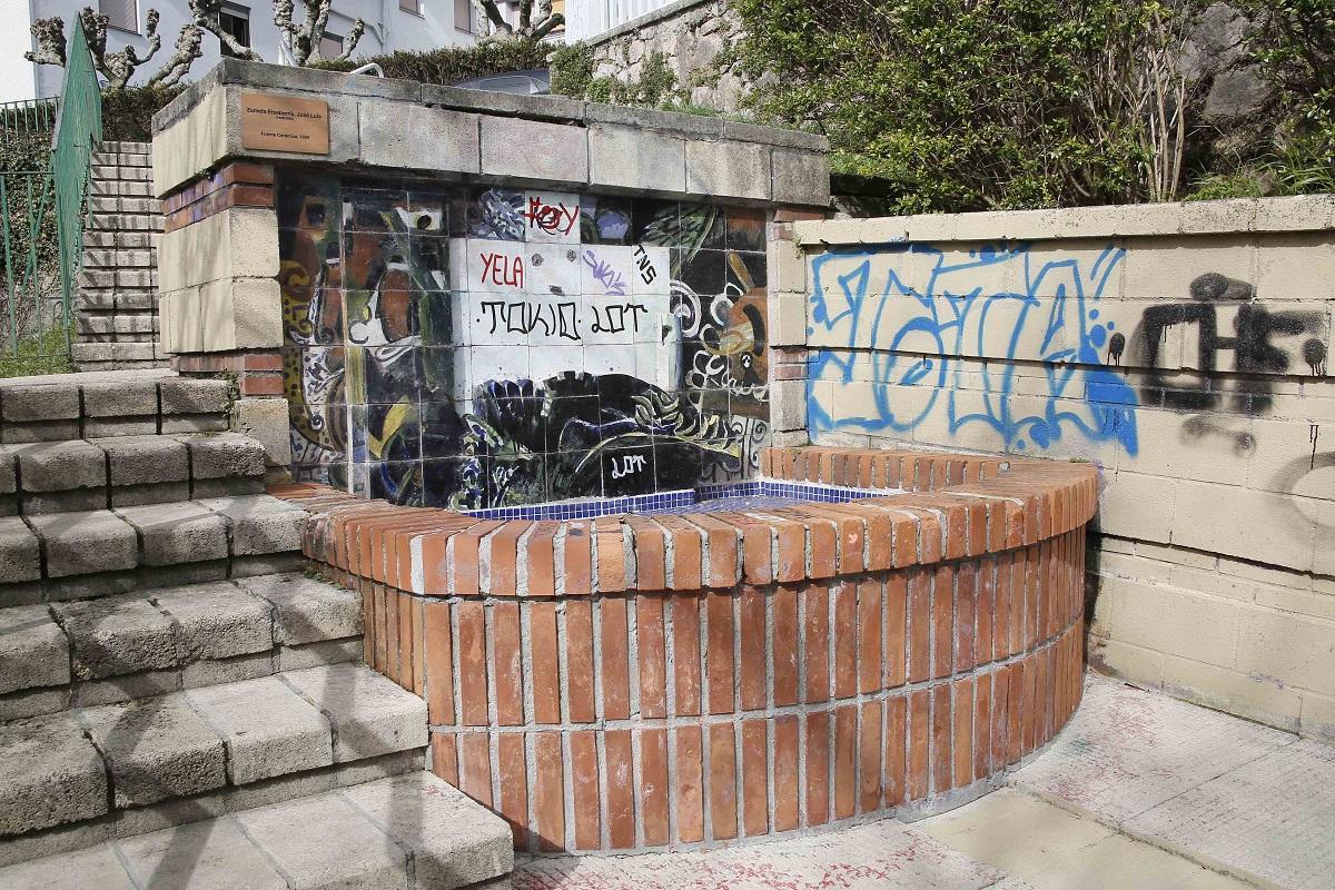 La fuente de Zumeta. Foto: Oskar Moreno