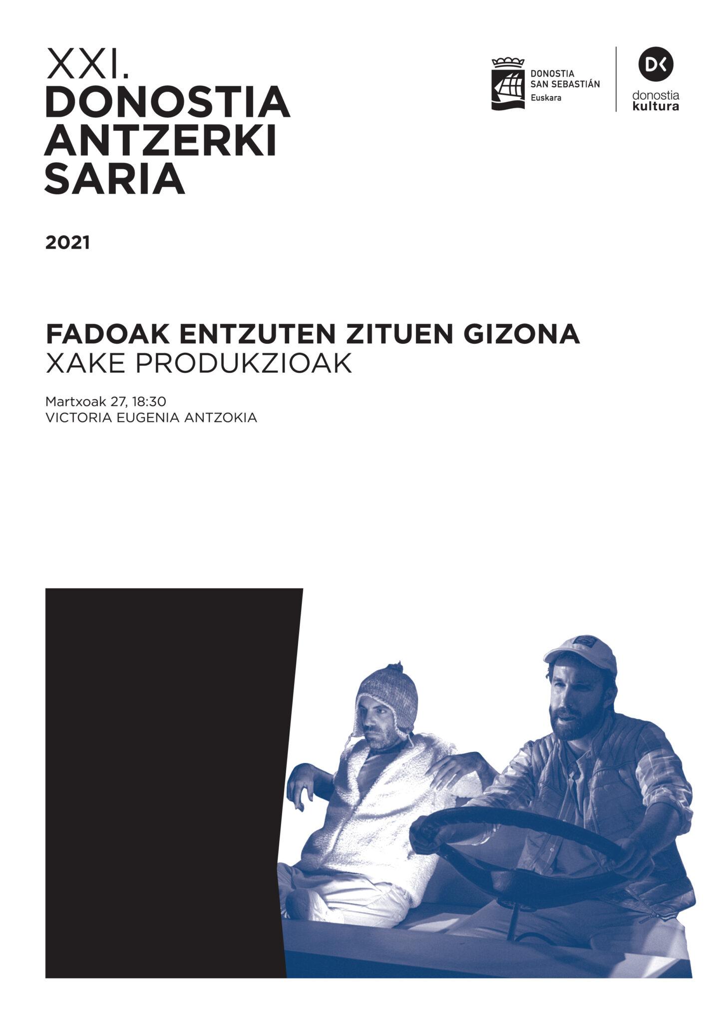 Cartel ganador. Foto: Donostia Kultura