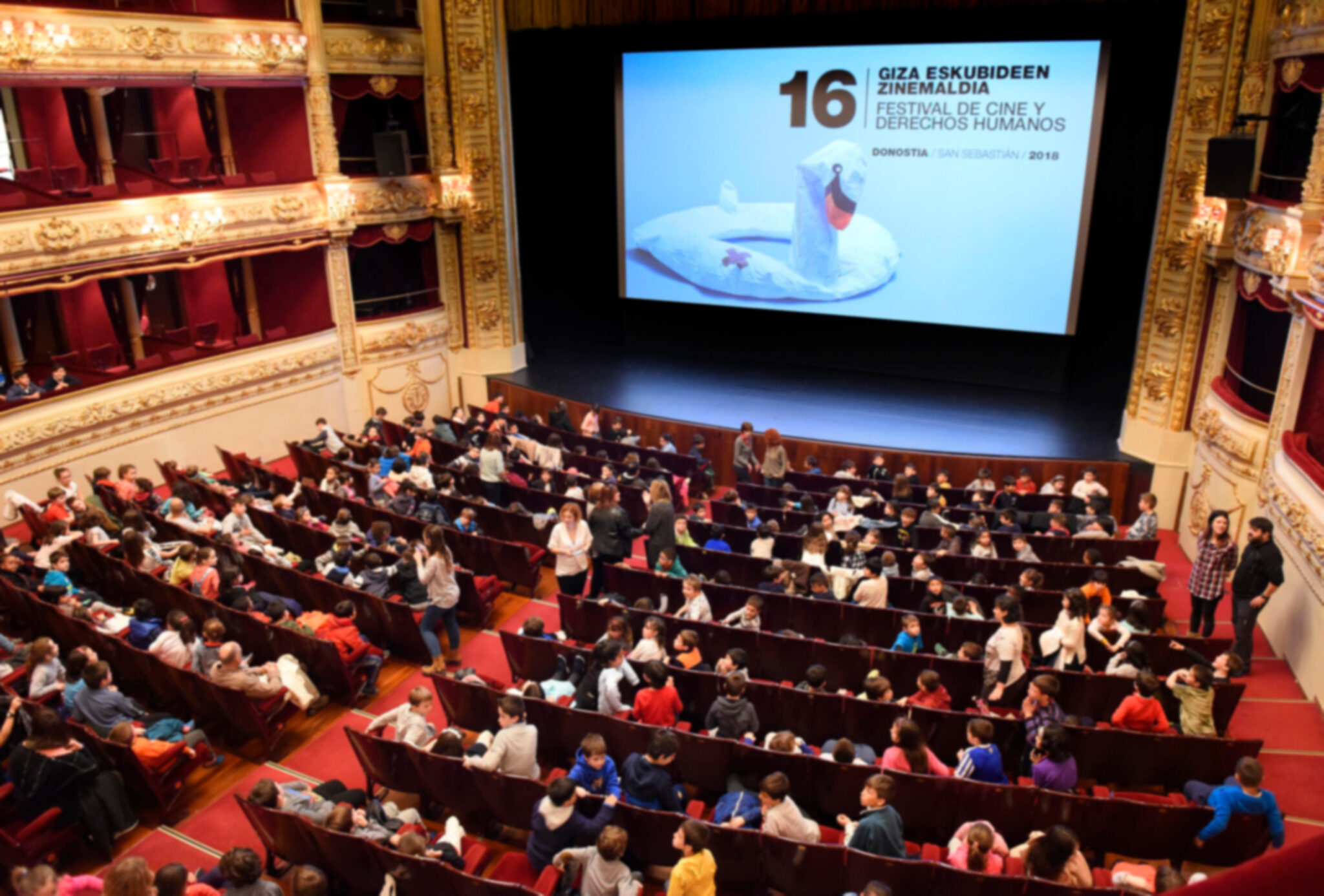 El Teatro Principal en la 16º edición. Foto: Donostia Kultura