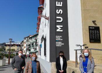 Presentación en el Museo Marítimo Vasco del proyecto MUNDUBIRA. Foto: Museo Marítimo Vasco