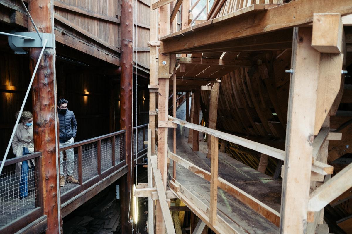 donostitik albaola 10 - La factoría marítima Albaola sortea los embates de la pandemia