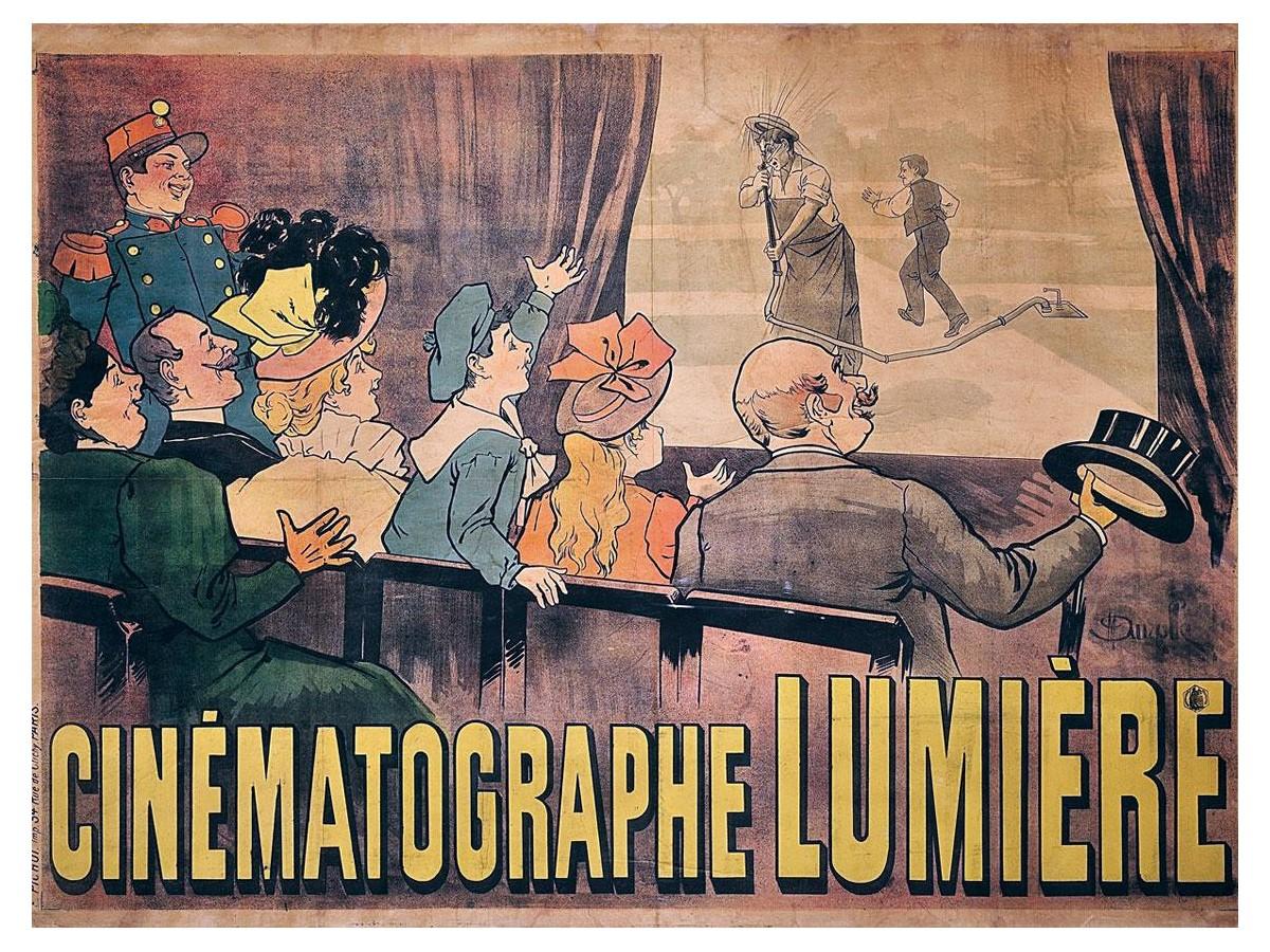 lumiere 1 - El cine: ese mágico rectángulo de luz para compartir