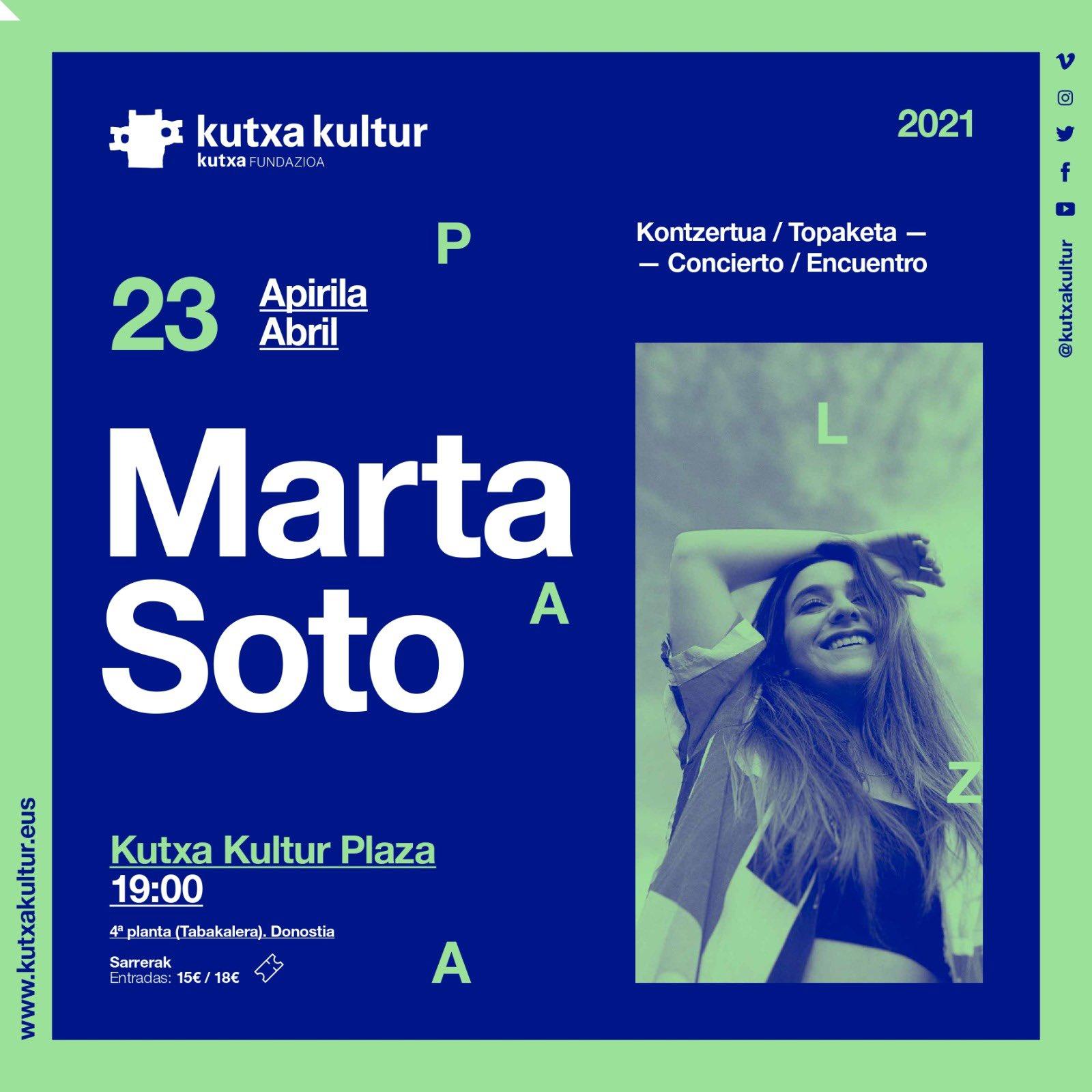 Cartel del concierto. Foto: Kutxa kultur