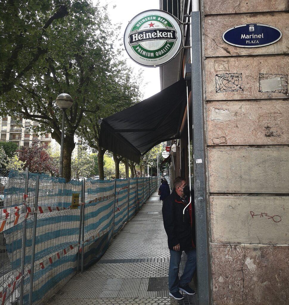 """Bar bigarren Amara 970x1024 - """"Donostia siempre está en obras"""""""