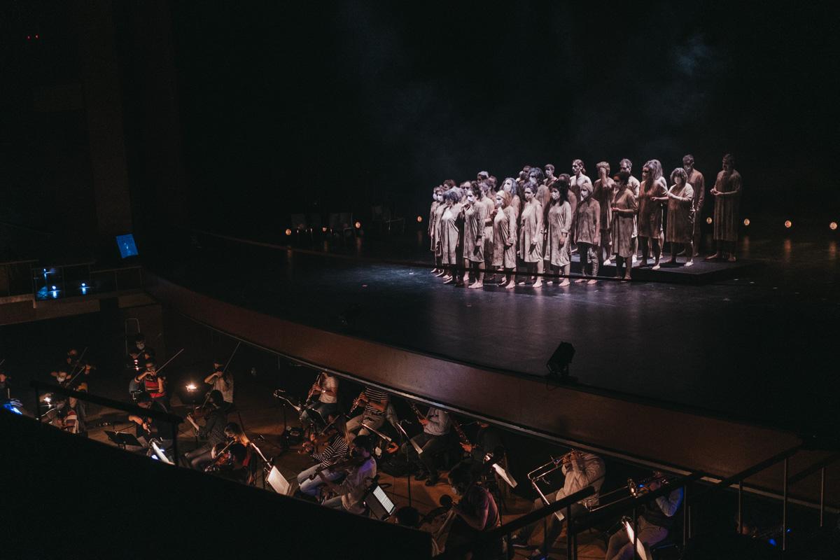 DSCF2804 - Todo listo para un Réquiem de Mozart espectacular en el Kursaal