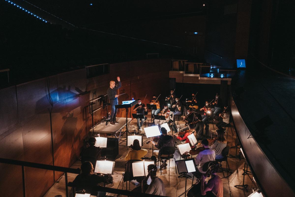 DSCF2957 - Todo listo para un Réquiem de Mozart espectacular en el Kursaal