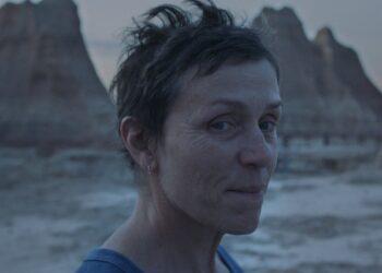 Frances McDormand en  una de las escenas de 'Nomadland'.