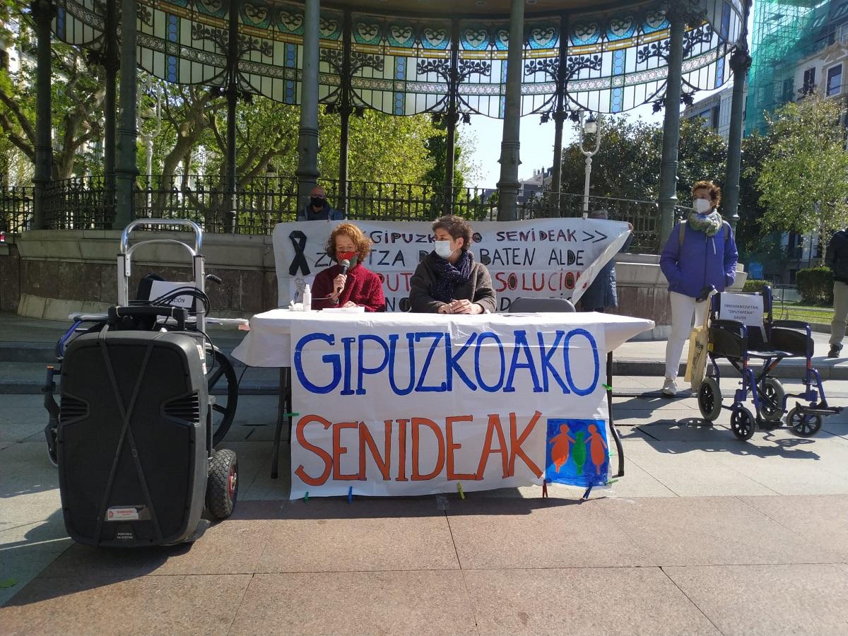 """gs3 - """"En las residencias de Gipuzkoa no hay un cuidado como el que los mayores merecen"""""""