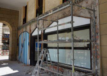 Imagen del 8 de mayo de la fachada del Barandiarán en el Boulevard. Foto: Áncora