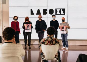 Presentación de LABO XL hoy en Kutxa Kultur. Foto: NODE