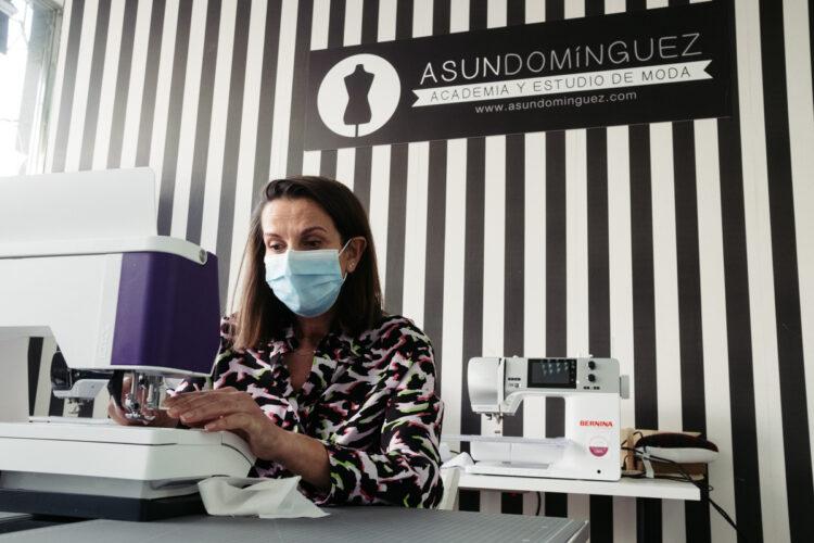 Asun Domínguez. Foto: Santiago Farizano