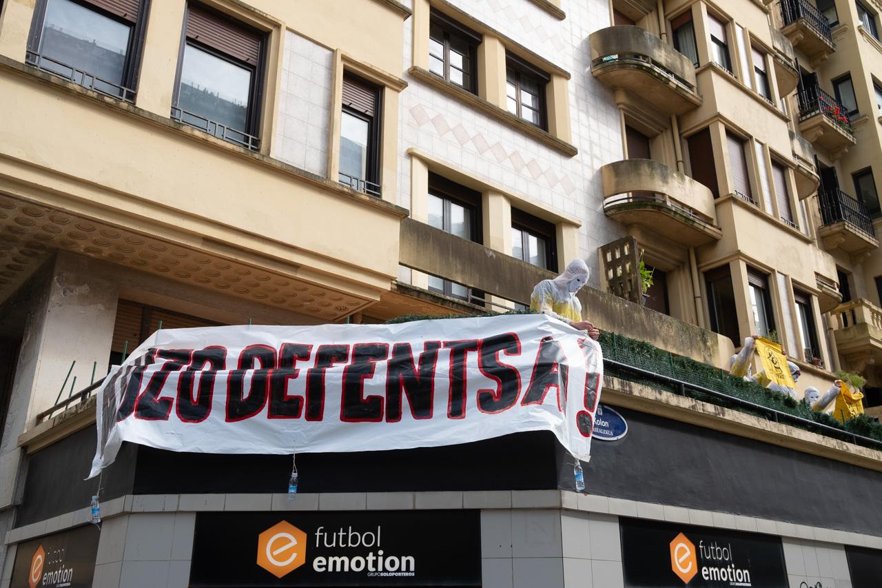 DSCF8873 - Cientos de personas marchan por el derecho a la vivienda en Donostia