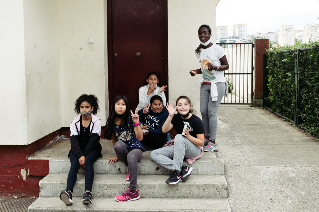 Patio Karmengo Ama 1024x682 - Así funciona un colegio de Trintxerpe con más de 30 nacionalidades