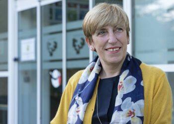 María Isabel Trespaderne, #enfermera especialista en Salud Mental. Foto: COEGI
