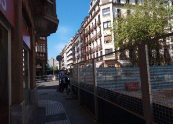 Obras en San Martín. Foto: A.E.