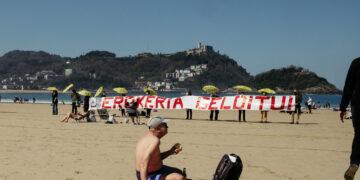 Imagen de archivo. Protesta de Satorralaia contra la pasante. Foto: Santiago Farizano