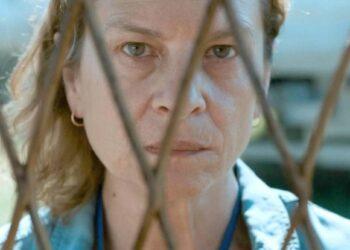 La protagonista de 'Quo vadis, Aida?'. Jasna Djuricic, en una de las escenas de la película.